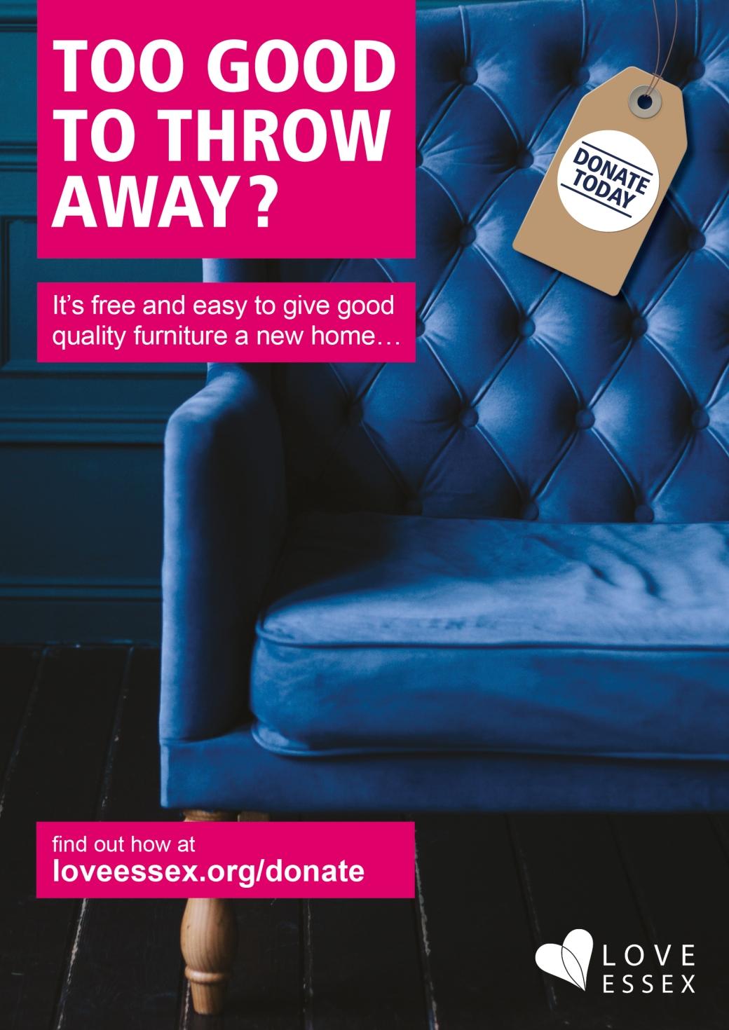 too good to throw away a4 sofa