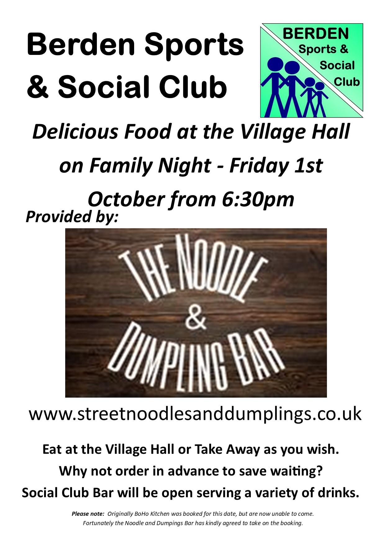 Family Night on Friday 1st October 2021.pub